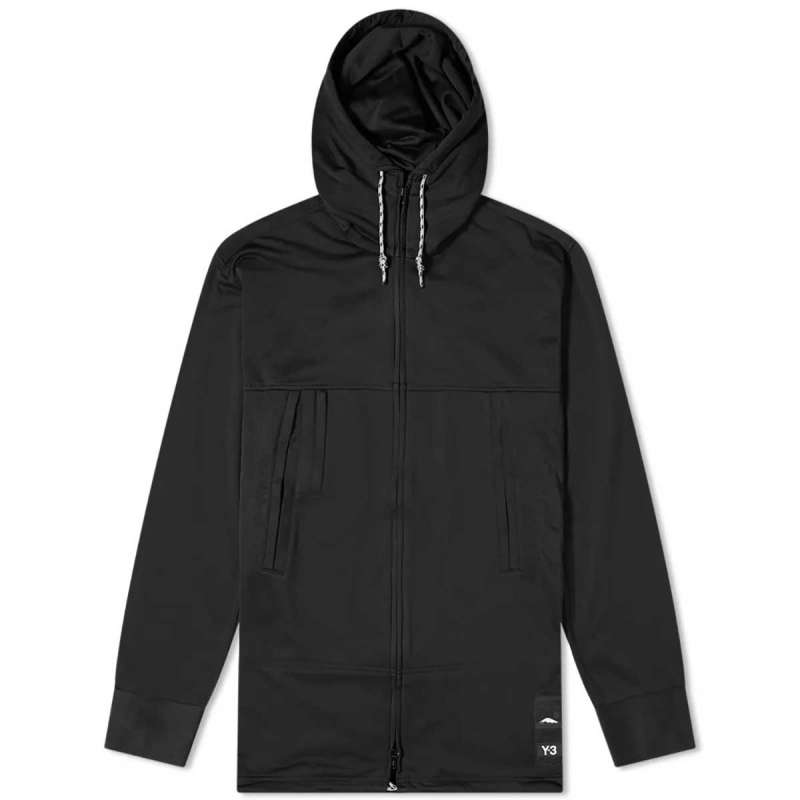 M CH3 TERRY HOODED TRACK JKT